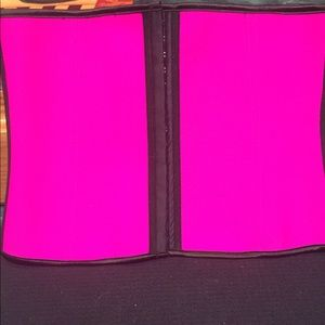 Other - 🛍SALE ✅PINK WAIST CLINCHER CORSET NWT